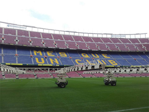 stadio barcellona interno
